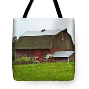 Old Barn On 264th. Street Tote Bag
