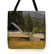 Old Barn On A Hot Summer Day In The Applegate Tote Bag