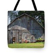 Old Barn South Of Brevard Tote Bag