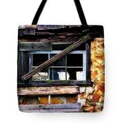 Old Barn Window 2 Tote Bag