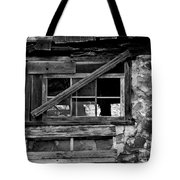 Old Barn Window Tote Bag