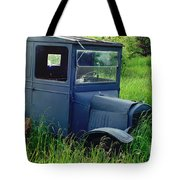 Old Blue Ford Truck Tote Bag