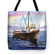 Old Boat Tote Bag