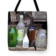 Old Bottle Tote Bag