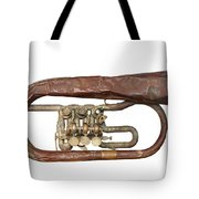 Old Broken Trumpet - Isolated Tote Bag
