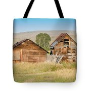 Old Building Woodruff Utah Tote Bag