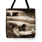 Old Caddy-sepia Tote Bag