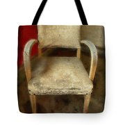 Old Chair Tote Bag
