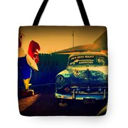 Old Chevrolet On Route 66 Tote Bag