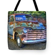 Old Chevy Tote Bag