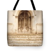 Old Church Door Tote Bag