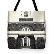 Old Church In Boston Tote Bag