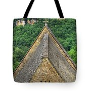 Old Church View Dordogne France Tote Bag