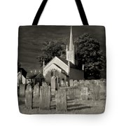 Old Church Yard Tote Bag