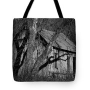 Old Clark Homestead Lost Valley Tote Bag
