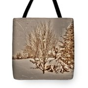 Old Country Christmas Tote Bag