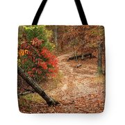 Old Country Road In Shannon County Tote Bag