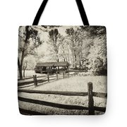 Old Country Saw-mill - Toned Tote Bag