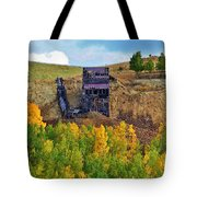 Old Cripple Creek Mine Tote Bag