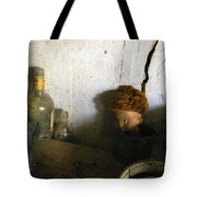 Old Doll In The Attic Tote Bag