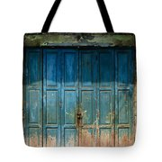 old door in China town Tote Bag