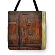 Old Door Study Provence France Tote Bag