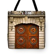 Old Doors Tote Bag