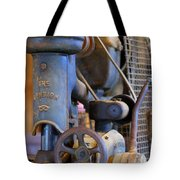 Old Drill Press Tote Bag