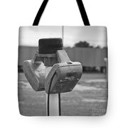 Old Drive-in Bw Tote Bag