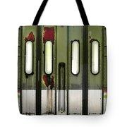 Old El Train Doors Tote Bag