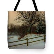 Old Fashiion Winter Tote Bag