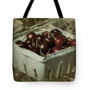 Old Fashioned Cherries Tote Bag