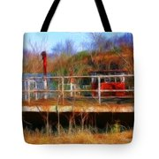 Old Ferry On The Cumberland Tote Bag