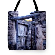Old Finca Ancient Hause In The Spanish  Mountains Tote Bag