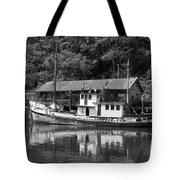Old Fishing Boat Tote Bag