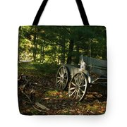 Old Frontier Wagon 1 Tote Bag