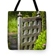 Old Garden Entrance Tote Bag