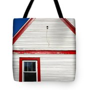 Old Gas Station Siding Tote Bag