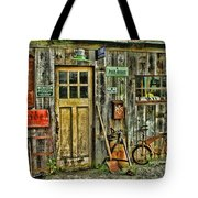Old General Store Hdr Tote Bag