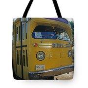Old Gm Bus Tote Bag