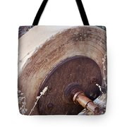 Old Grinding Wheel Tote Bag