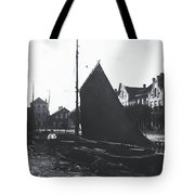 Old Harbor 1880 Tote Bag
