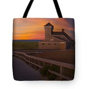 Old Harbor U.s. Life Saving Station Tote Bag by Susan Candelario