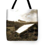 Old Hay Barn Tote Bag