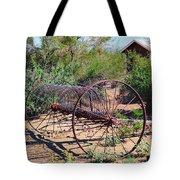 Old Hay Rake Tote Bag