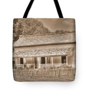 Old House In The Cove Tote Bag