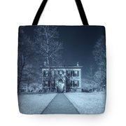 Old  House Infrared Tote Bag