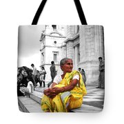 Old Indian Woman Tote Bag