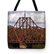 Old Iron Works Tote Bag