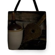Old Items On A Stone Hearth 1 Tote Bag